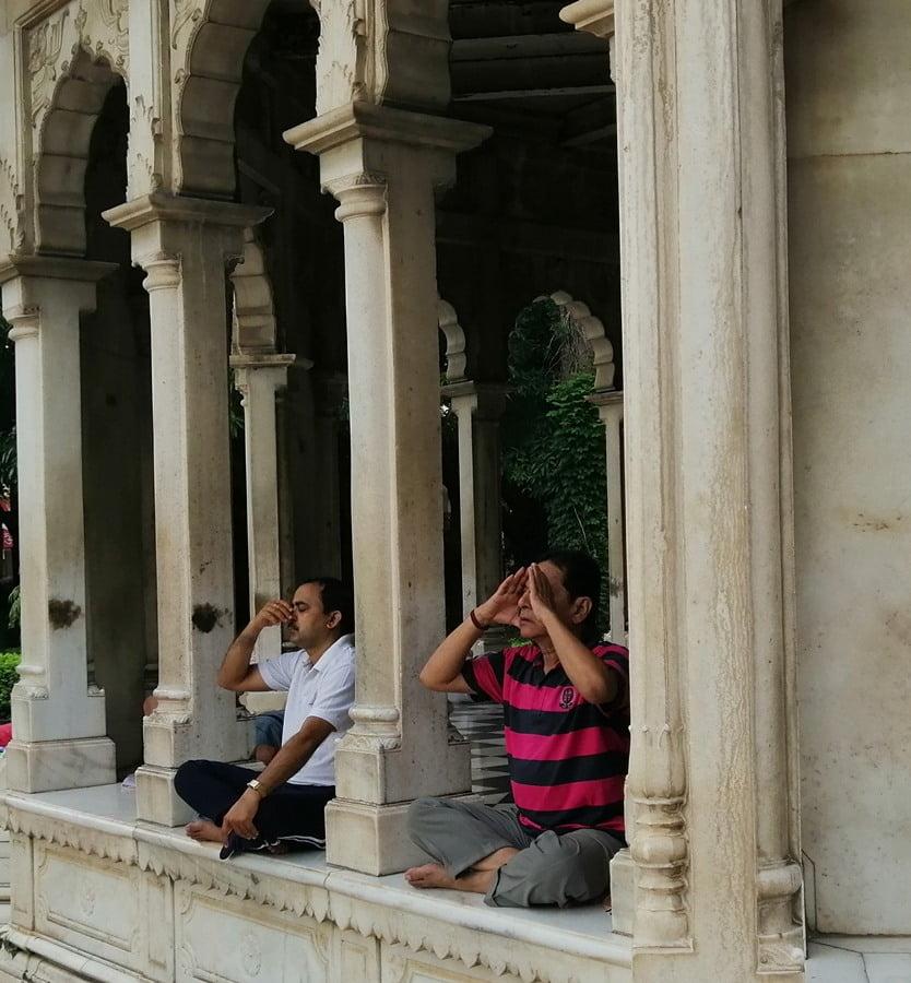 Yoga a casa India